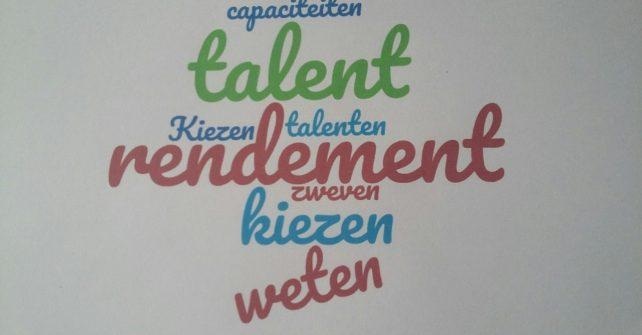 """Gratis Workshop """"Rendement uit Talent"""""""