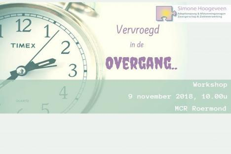 9 november: workshop vervroegde overgang